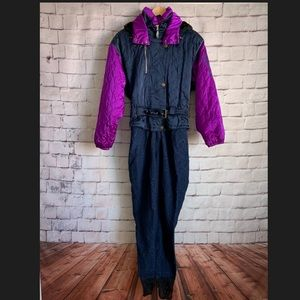 Obermeyer Vintage  Ski/Snowsuit Anchored Legs 8